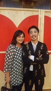 Hyunmo Cho e MG Cambiale di matrimonio