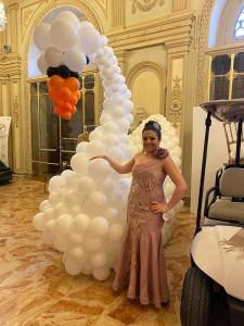 claudia nozze in villa